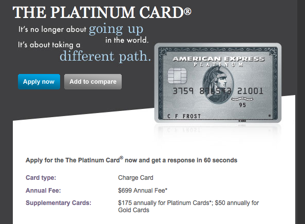 Would I Ever Use The American Express Platinum Or